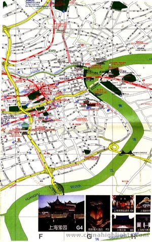 Shanghai Street Map