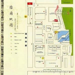 Shanghai Yu Garden Map