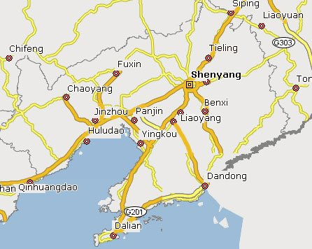 Shenyang Location in Liaoning