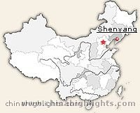 Shenyang Location in China