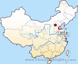 Yantai Location in China