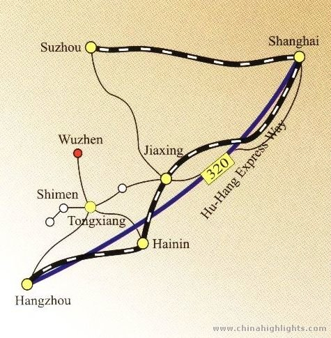 Suzhou Transportation Map