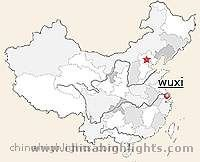Wuxi Location in China
