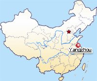 Yangzhou location map