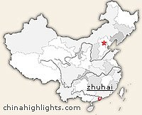 Zhuhai Location in China