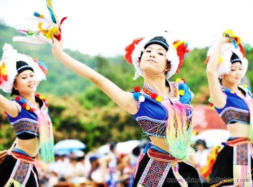 Zhuang People's March 3rd Festival